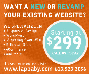Need a New Website? Packages starting at $299